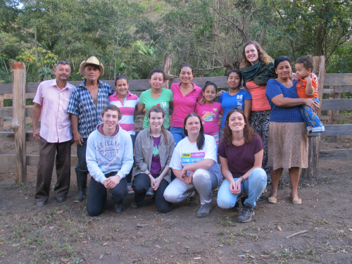 The Step into the Gap Nicaragua group
