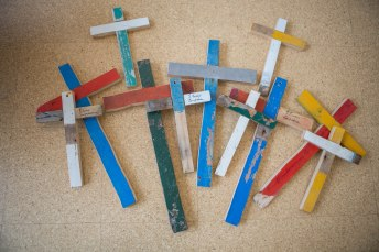 A collection of Lampedusa Crosses