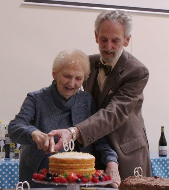 John and Sheila 60 years