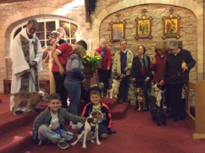 Pets and parishioners